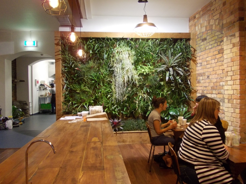 Misters Cafe Auckland Feature Wall