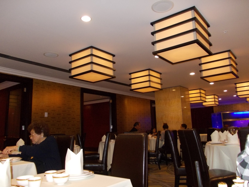 Interiors of Jade Dragon Restaurant in Sky City Auckland